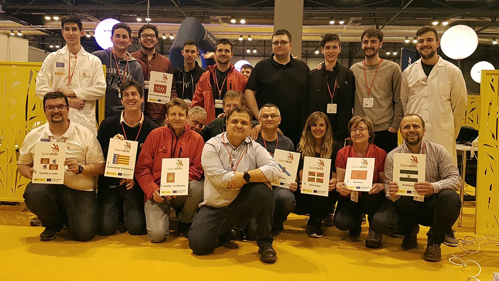 GESPROGA / CTIcontrol participaron en SPAINSKILLS